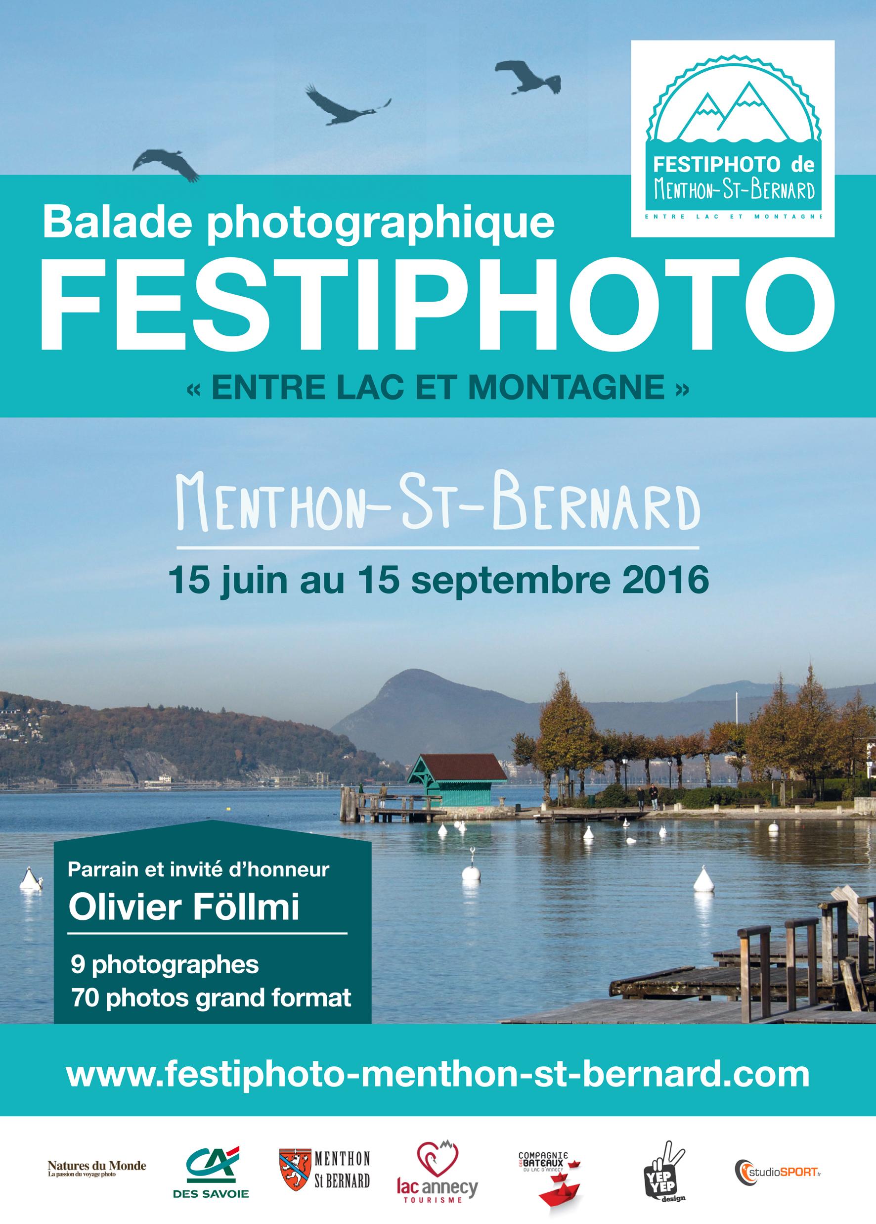 FESTIPHOTO 2016, une promenade photographique dans le cadre superbe du lac d'Annecy!