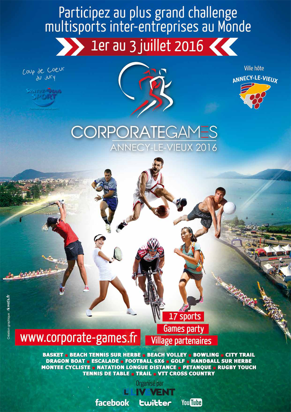 Corporate Games, sport for life !