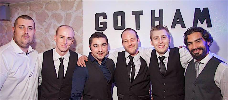 Benoît, Florian, Alex, Julien (le patron) Axel, Abraham // Copyright AnnecyByNight.com