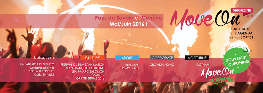 Move-On Magazine #13 // MAI - JUIN 2016