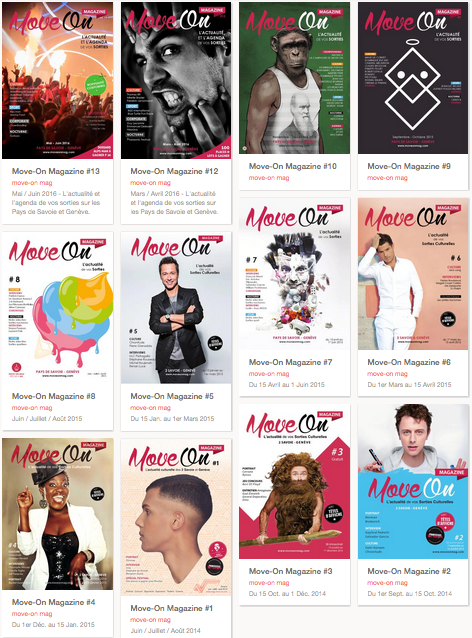 Move-On Magazine en version Papier
