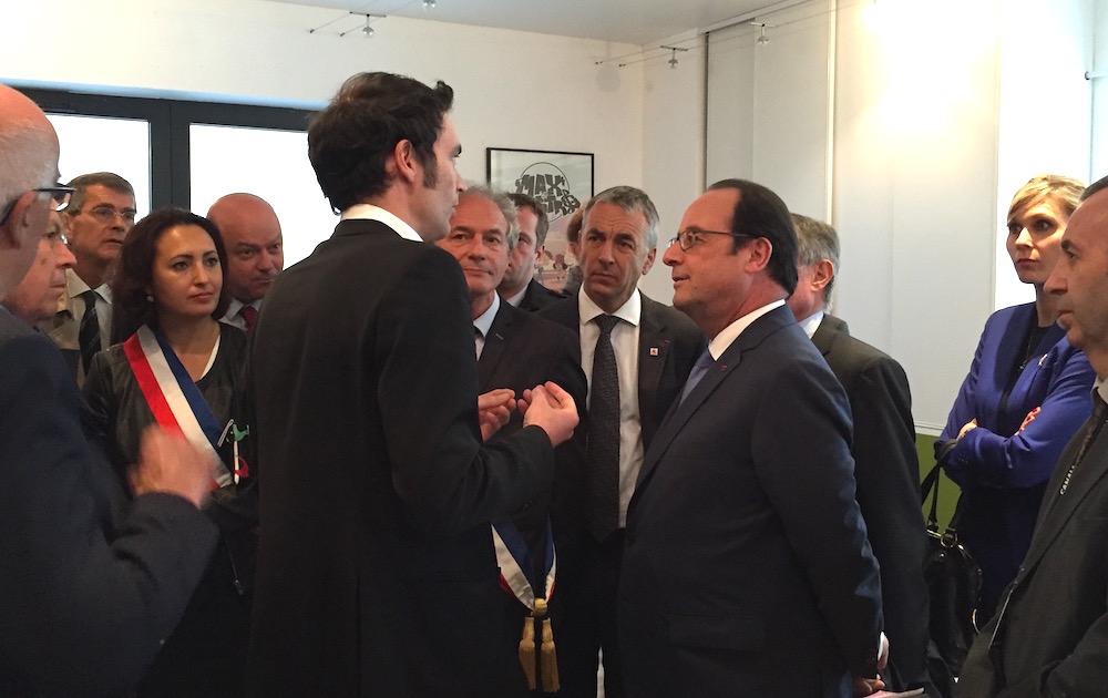 François Hollande ©Damien Tiberio