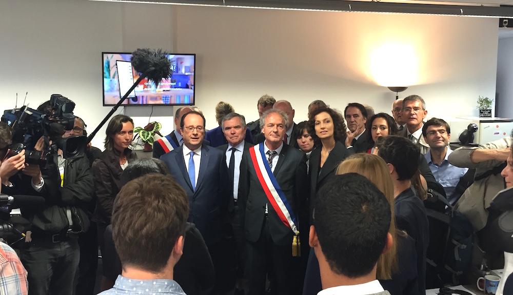 Françcois Hollande ©Damien Tiberio
