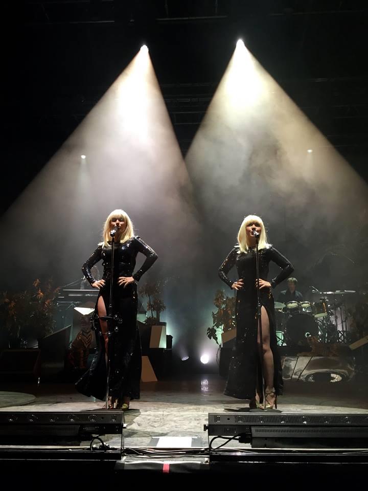 Le duo Brigitte
