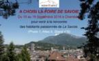 CHOISIR SAVOIE présent à la Foire de Savoie, du 10 au 19 septembre 2016