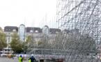 Le SOSH BIG AIR commence à prendre de la hauteur Place des Romains Annecy !