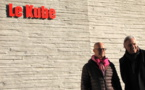 """On a suivi Stéphane Thébaut sur le tournage de l'émission """"Maison France 5"""" à Annecy le 9 décembre dernier"""