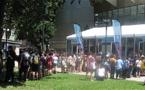 Les festivaliers débarquent à Annecy !