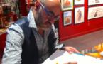 Rencontre avec Antonio Lapone, dessinateur de la BD « La fleur dans l'atelier de Mondrian »