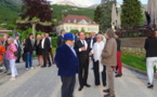 François Hollande à la Fête du Livre de Talloires le 25 mai 2019