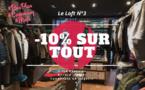 COUPONING : -10% sur tout le magasin dès 1 article acheté au Loft n°3 Annecy
