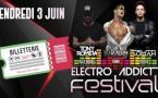 4ème FESTIVAL ELECTRO ADDICT, le 3 Juin au Pop Plage Annecy + Billetterie