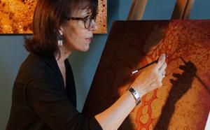 Rencontre avec Martine Le Normand, poète peintre