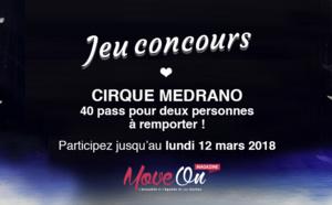 #JEU CONCOURS : 40 places à gagner pour le spectacle du Cirque Medrano !