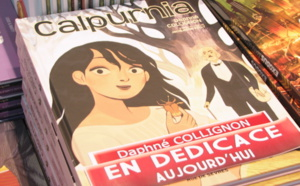 Rencontre avec Daphné Collignon qui dédicace « Calpurnia » chez BD Fugue Annecy