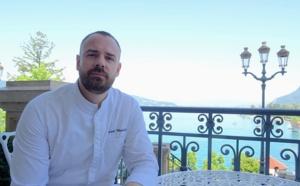 Laurent Wozniak, d'un lac à l'autre pour le Palace de Menthon