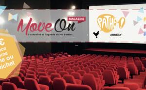 """COUPONING : 7,50€ la place de cinéma avec le code """"CINEMALIN"""" au Pathé Annecy"""