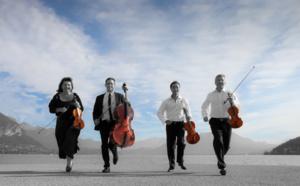 Les 30 ans du Quatuor Annesci, ce qu'ils nous disent avant le rendez-vous du 16 nov. 2019 au Château d'Annecy
