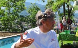 Pour le 3° samedi, Laurent Petit ouvre son Clos des Sens en soutien aux producteurs