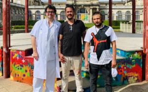 Cyril Kongo, graffeur au grand cœur pour l'hôpital Lariboisière