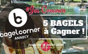 #JEUCONCOURS / 5 bagels à gagner chez BAGEL CORNER Annecy !