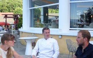 Conversation entre Stéphane Tourreau, Eric Prowalski et Véronique Droux aux Trésoms