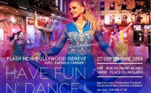Flash mob Bollywoodien à GENEVE le 27 sept. 2014