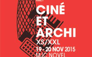 Rencontres Cinéma et architecture, 19-20 novembre, MJC Novel à Annecy