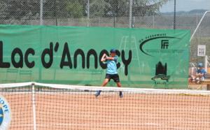 Les Petits Princes du Lac d'Annecy, tournoi de tennis majeur pour les jeunes champions.