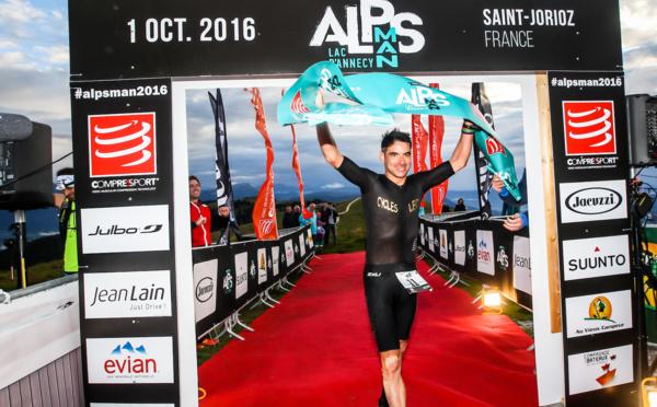 Cédric Jacquot devient le premier AlpsMan