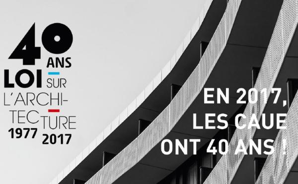 """Le projet """"Archi-Littéraire"""" signe la célébration des 40 ans des CAUE"""