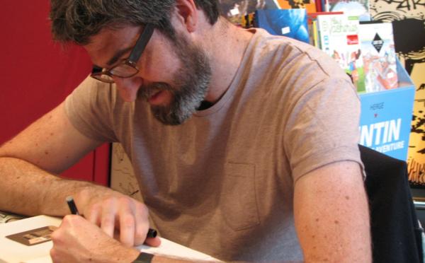 Fabien Toulmé en dédicace chez BD Fugue Annecy