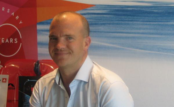 Patrick Giraudon, président aussi à l'aise dans son entreprise que sur les skis !