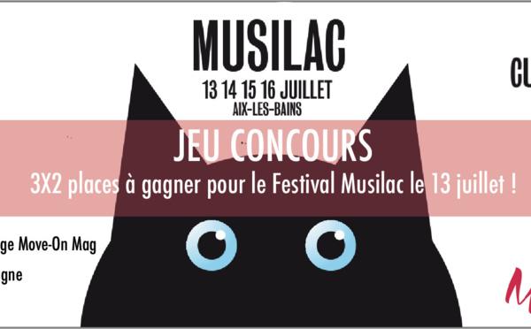 JEU CONCOURS : 6 Places à Gagner pour le Festival Musilac le 13 juillet