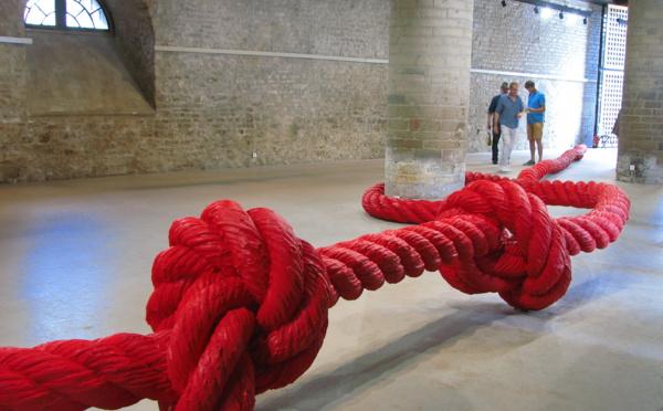 Exposition Corde à nœuds de Lilian Bourgeat à Cluny