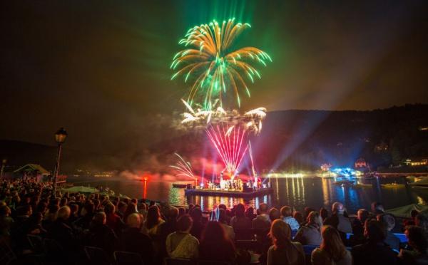 Les Pyroconcerts de Talloires du 23 au 25 août 2017