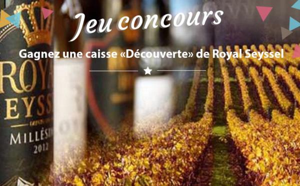 """#JEUCONCOURS : Gagnez une caisse """"Découverte"""" de 6 bouteilles Millésime ROYAL SEYSSEL !"""