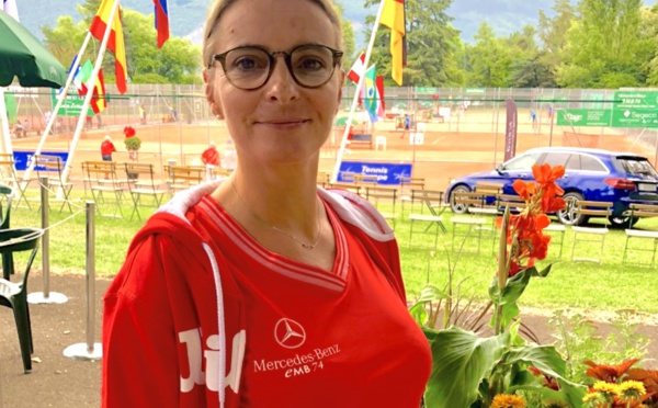 Anne Chedozeau, directrice de la communication pour le Tournoi des Petits Princes d'Annecy