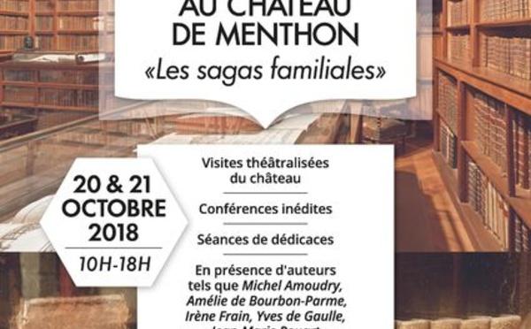 Rencontres littéraires au Château de Menthon «Les sagas familiales»