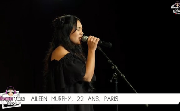 Aïleen Murphy, le plaisir de chanter et de remporter le Monkey Tunes Talent 2018