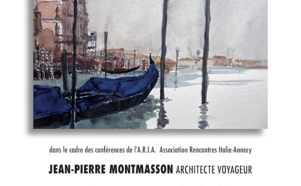 Venise en aquarelles,conférence