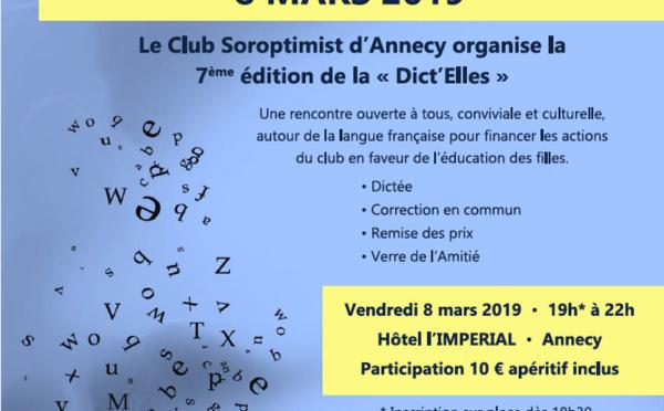 Dict'Elles le 8 mars 2019 à l'Impérial/Annecy