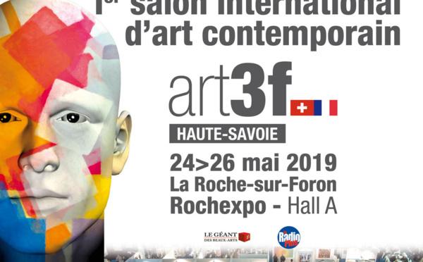 Prochainement le Salon art 3f à Rochexpo, L'art à la portée de tous !