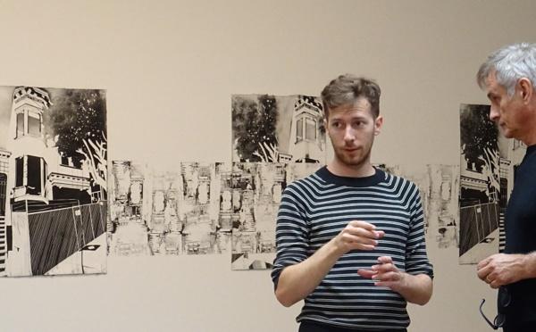 MAXIME DUVEAU expose à La FONDATION SALOMON