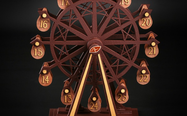 Patrick et Louis Agnellet unis par une Grande Roue qui sublime le chocolat