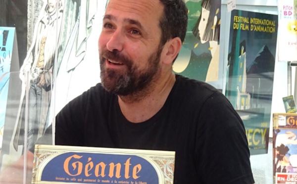 Conversation avec Jean-Christophe Deveney chez BD Fugue Annecy