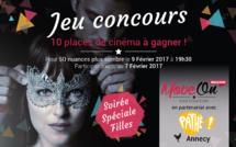 JEU CONCOURS : 10 places à gagner pour la soirée spéciale filles de 50 nuances plus sombre !