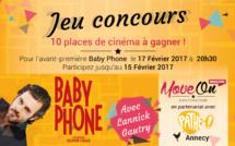 JEU CONCOURS : 10 places de cinéma à gagner pour Baby Phone