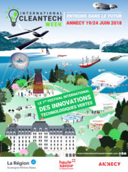 International Cleantech Week, du 19 au 24 juin 2018 à Annecy
